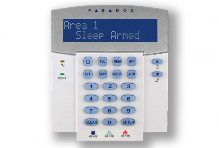 Πλήκτρολόγιο συναγερμού Paradox K32 LCD