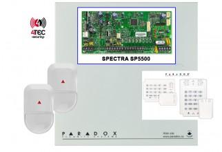 Συναγερμός Paradox SP5500 με 10 παγίδες και Πληκτρολόγιο LED, σε προσφορά
