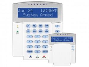 MG32LCD - Σύστημα συναγερμού Paradox SP 5500 LCD πληκτρολόγιο