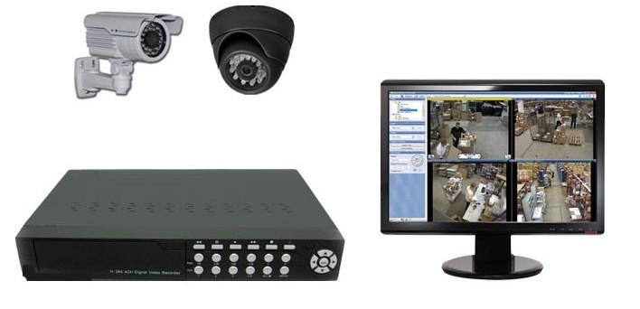 Eγκατάσταση συστημάτων CCTV (κλειστό κύκλωμα τηλεόρασης)