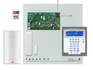 Ασύρματο Σύστημα συναγερμού σπιτιού Paradox MG 5050 με πληκτρολόγιο ICON & 2 Ασύρματα Radar Paradox PMD-2Ρ